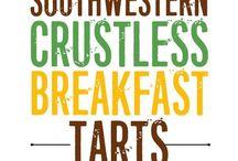 Crustless breakfast tarts