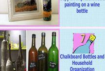 wine. bottles