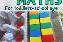 Toddler maths