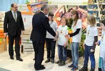 Gauck besucht GemüseAckerdemie / Besuch des Bundespräsidenten im Rahmen der Grünen Woche