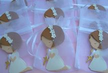 Baptism 1st communion / Cookies / by Claudia Ramírez