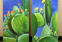 Cactus Peinture