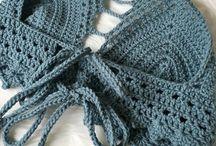 Crochet swimmer