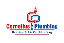 Plumbing Logo / Plumbing, Air Conditioning, Heating, Cooling, Refrigeration, Commercial and Residential HVAC Systems Logo Designs