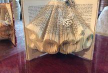 Libros intervenidos / Book Art. DIY. Manualidades. Handmade. Libros de artista.