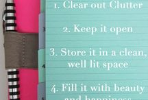 Planner Crazy / Filofaxes, Kate Spade Planners, planner set up, and printables / by Brittany Tempest