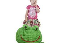 CROCHET KRAZY~Feelin' Froggy
