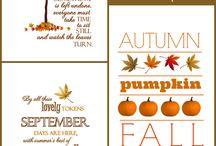 Holiday - Fall