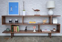 Our work - Bookcases / Solid wood pieces with plenty of space for all your belongins. We make handcrafted pieces influenced by Danish Modern style, but also heavily inspired by the vintage, minimalist aesthetic of downtown New York and Brooklyn. Made with love in NYC.