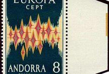 Stamps, Andorra