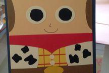 Invitaciones Toy Story / Ideas para hacer invitaciones originales para tu pequeño :)