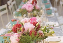 Beautiful table settings. / My favorite thing to do. Set a beautiful table and serve my favorite people.