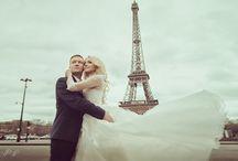 Красивые свадьбы / Свадебные фотосессии с разных уголков мира