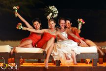 Our Bridesmaids / Because they are very important in your wedding day, and we love her…..