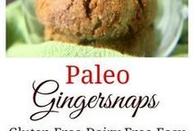 paleo ginger snap cookies