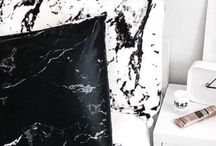 marble black and white