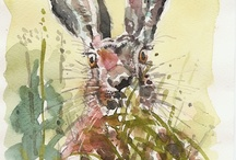 Artwork from Great Food Magazine / Watercolours by Graham Wright