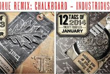 Tim Holtz 12 Tags Re-Mix 2016