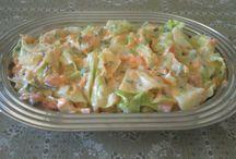salada de repolho com abacaxi