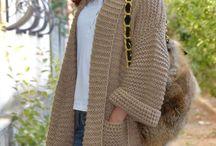 pulovere tricotate si crosetate