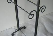 porta toalla en hierro