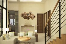 House Project 2015 at Jakarta ( Living Room Lvl 1 )