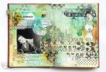 Altered book journals / by Heather Swiney