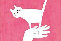 macskás alkotások