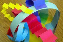 Dobragens com papel