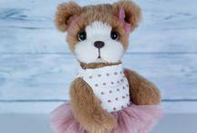 Teddyroom Teddy bear OOAK