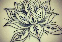 tattoo rug vrouw