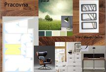 Showroom - návrh / Návrh showroomu pro Living Prague, objekt v - Lysá n. Labem