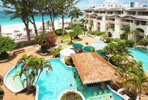 Barbados, All Inclusive Honeymoons / Barbados is in the Southern Caribbean, just 250 miles northeast of South America, and boasts 3000 hours of annual sunshine.  Barbados is cooled by constant trade winds, which keeps the average temperature at 86 degrees. #AllInclusiveHoneymoons #BarbadosHoneymoon