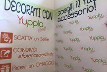 Selfie allo stand YupplaCraft / Florence Creativity 2015 Edizione primavera #florencecreativity