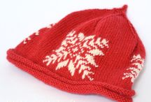 Christmas Knits .. Holiday Knits  Knitting Patterns by Linda Whaley / Create a Hand Knit gift for Christmas Easy to read knitting patterns and help at the end of an email. Instant Downloads available from www.lindawhaley.co.uk www.littlepickleknits.etsy.com / by Linda Whaley