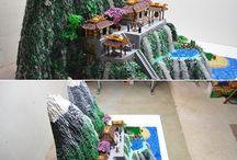 Malownicze krajobrazy lego