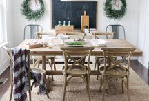 Dining table rugs