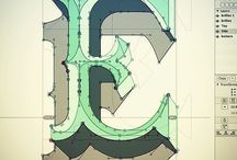 les belles lettres / nice éléments typographiques