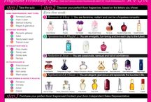 Avon Charts / Helpful Avon charts, beauty guides etc.
