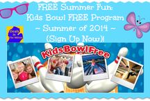 Free Summer Fun for Kids / Find Out What's FREE This Summer 2014 for Your Kids!