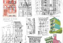 NY drawings
