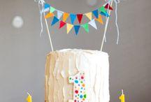 Bursdagsselskap  / Kake til 1 års dag