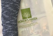Honor's Haven Souvenirs & Gear / Our gear and souvenirs that are available for purchase at the gift shop or promotional items we have for various events!