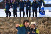 Running Man / Kim Jong Kook, Yoo Jae Suk, Ha Dong Hoon, Song Ji Hyo, Kang Gary, Ji Suk Jin, Lee Kwang Soo ❤️