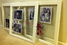 window panes/Picture frames / by Trina Wilkey Ball