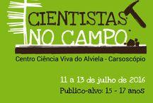 CIENTISTAS NO CAMPO