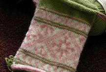 My knitting world