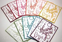 Stampin' Up! Another Thank You