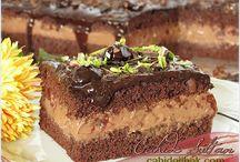 vişneli kakaolu pasta