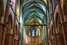 katedra gotycka wnętrze